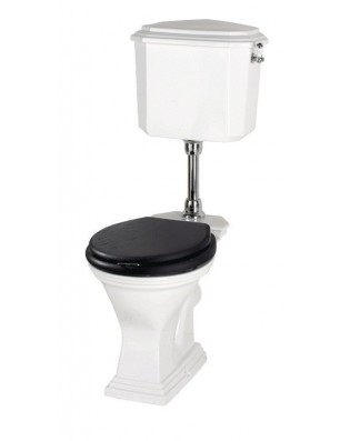ASTORIA DECO Toilet med lav cisterne