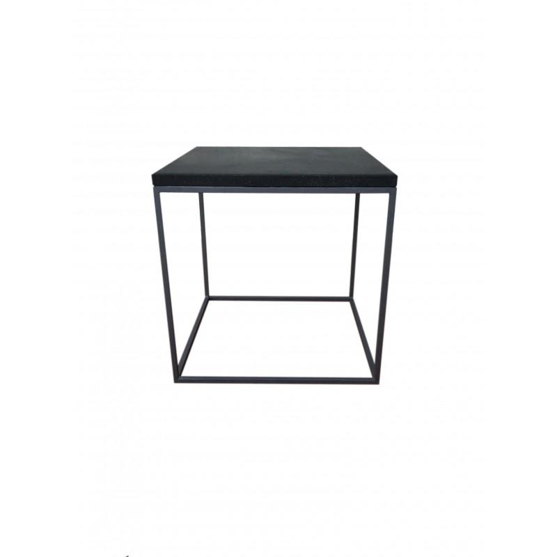 Grey Stone table 40 x 40