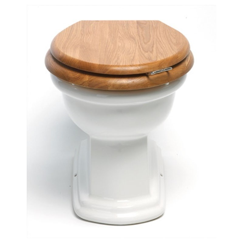 BERGIER toilet to floor to built-in cistern