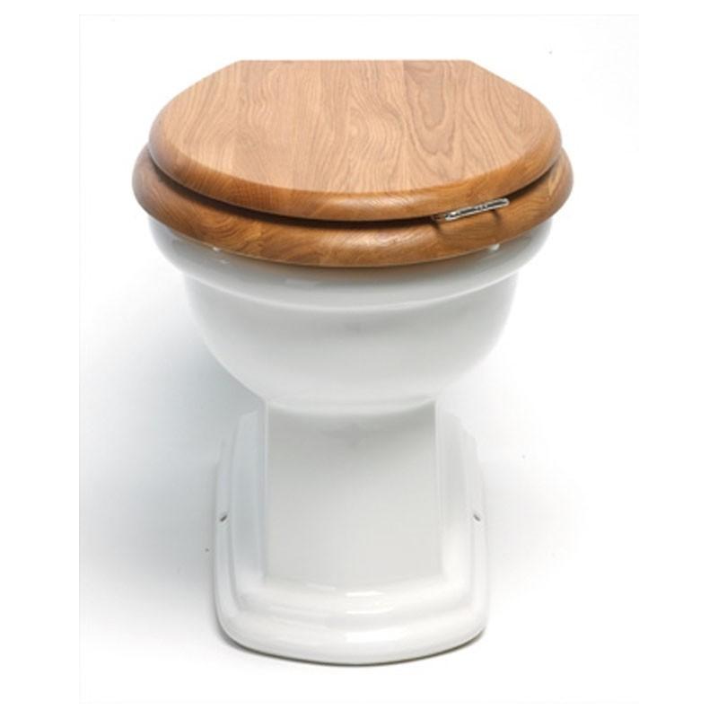 BERGIER toalett till golv inbyggd cistern