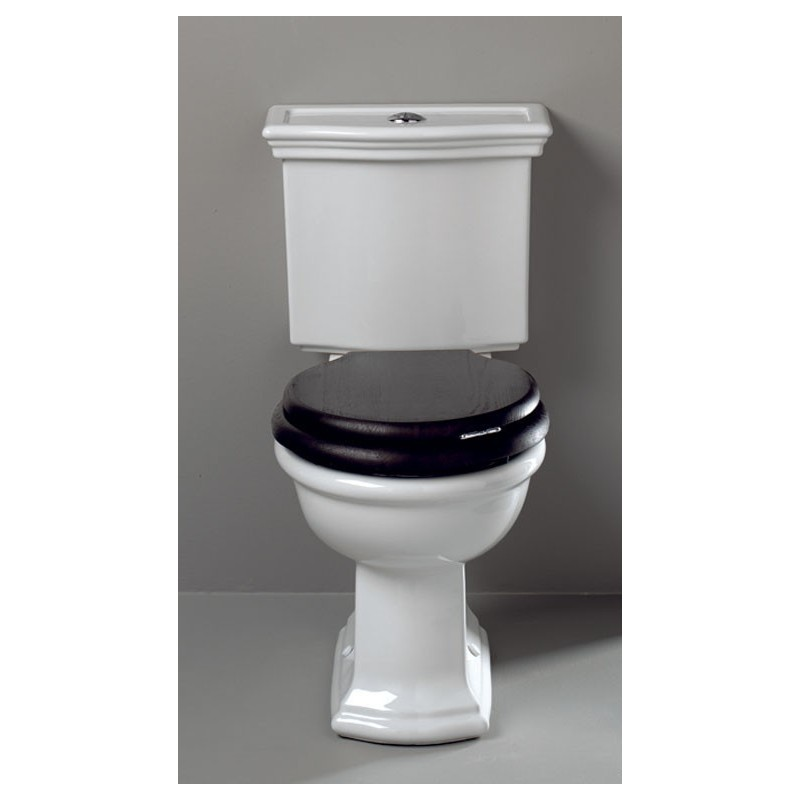 BERGIER toilet with fixed cistern