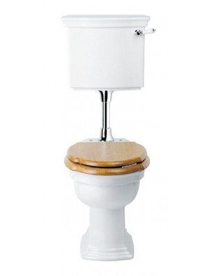 BERGIER toilet with low cistern