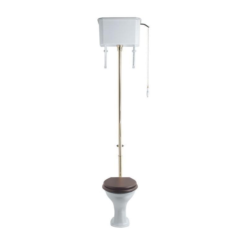 DRIFT toilet med høj cisterne