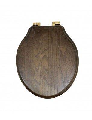 toiletsæd dark oiled oak