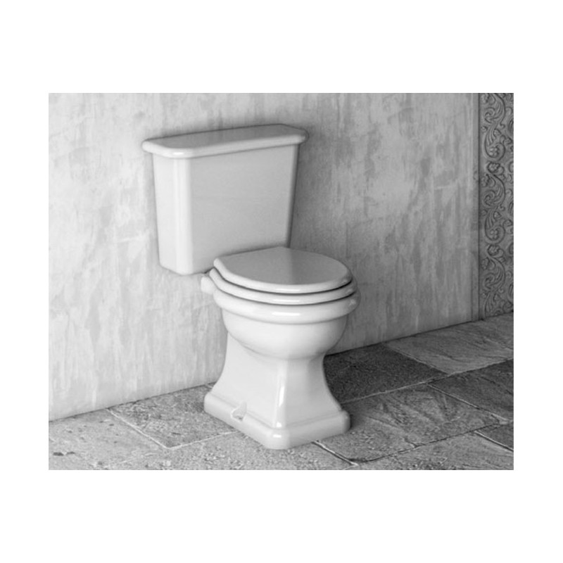 Paolina toilet with fixed cistern