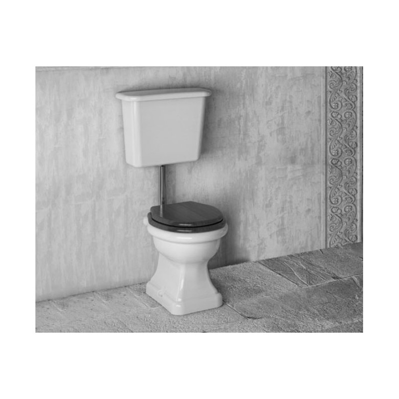 Paolina toilet with low cistern