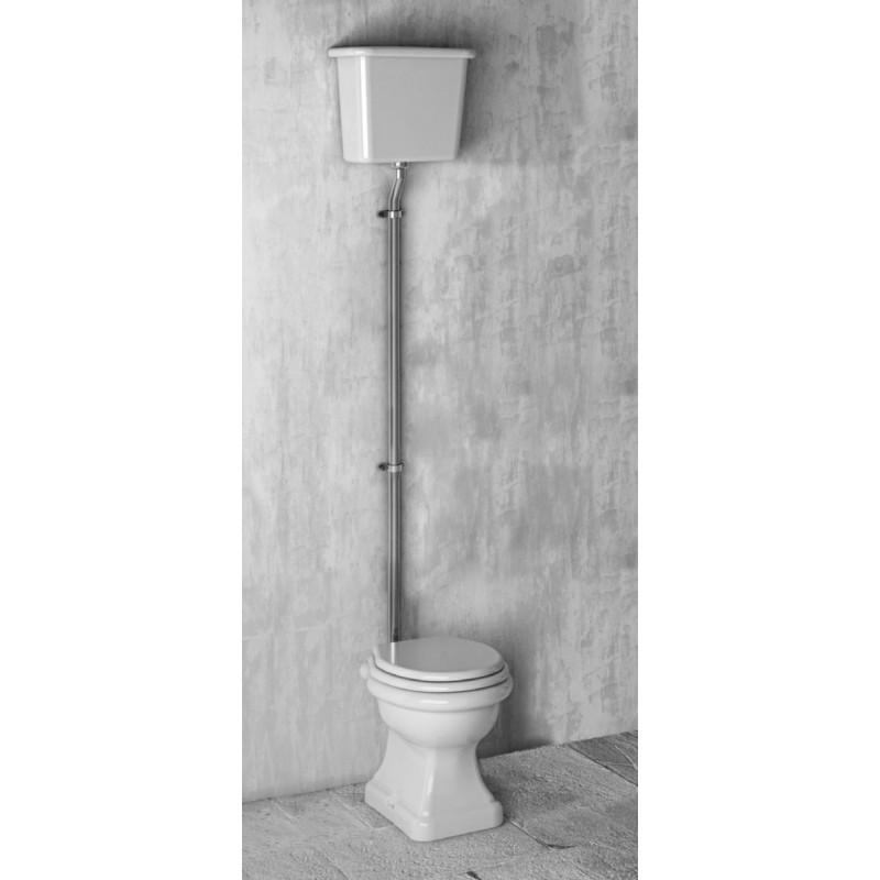 Paolina toalett med hög cistern