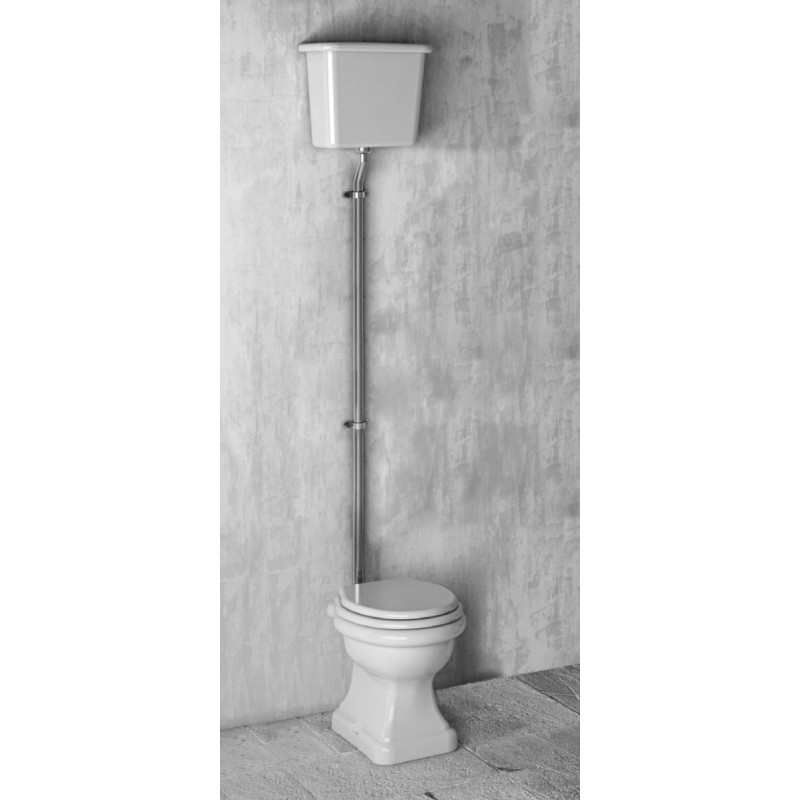 Paolina toilet med høj cisterne