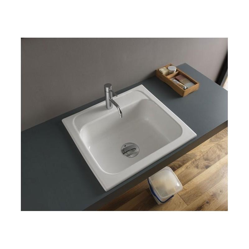 Lancashire 60 porcelain sink