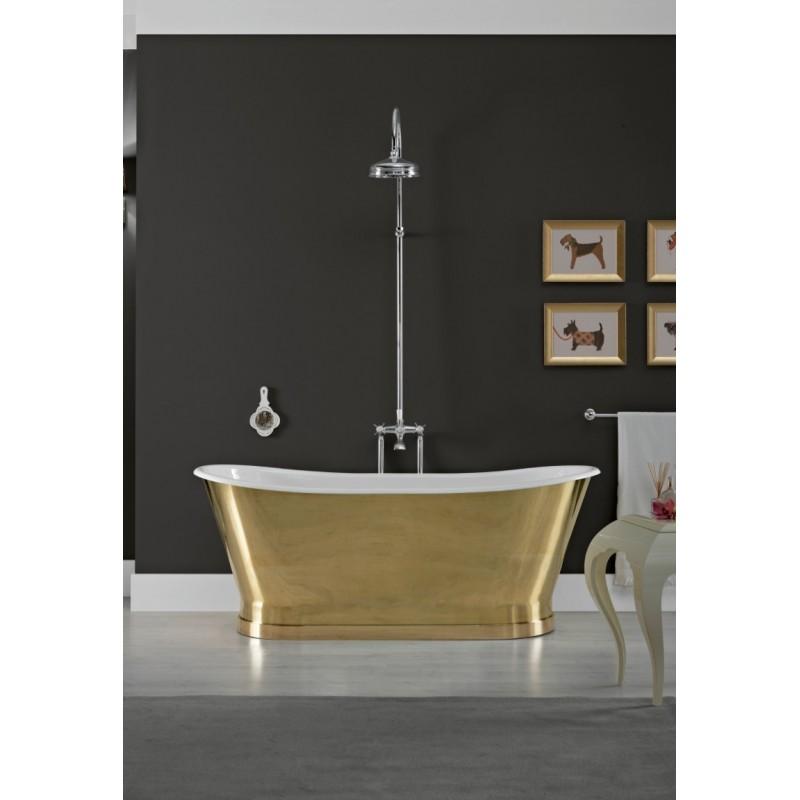 Meer bemanning messing tub