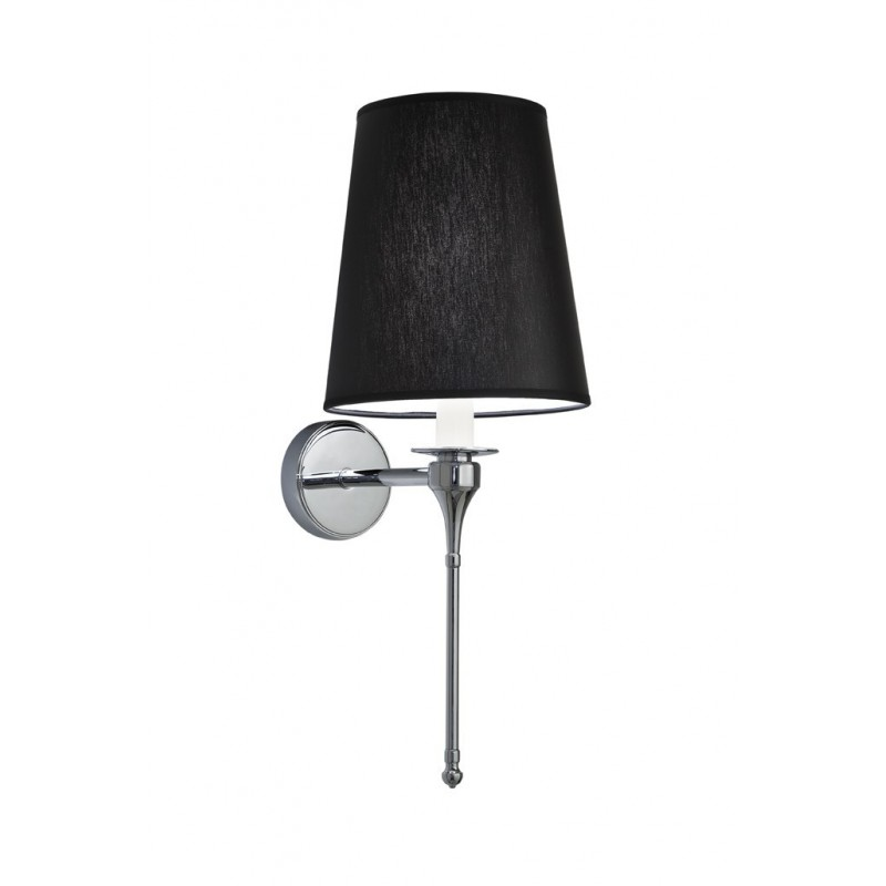 Pendant Wall lamp black Chintz