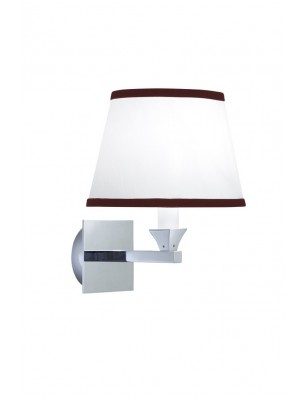 Astoria-Oxford Wall lamp oval with rubin Pinstripe