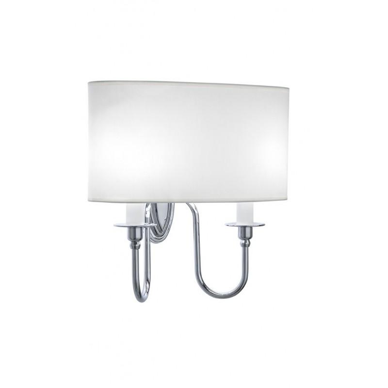 Heyford,-Oxford ovaal wandlamp wit