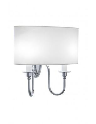 Heyford - Oxford væglampe oval hvid