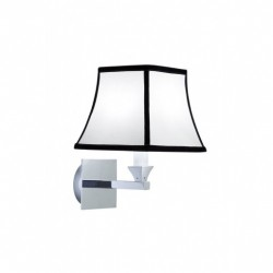 Astoria Wall lamp with black pinstripe