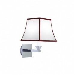 Astoria wall light with rubin Pinstripe