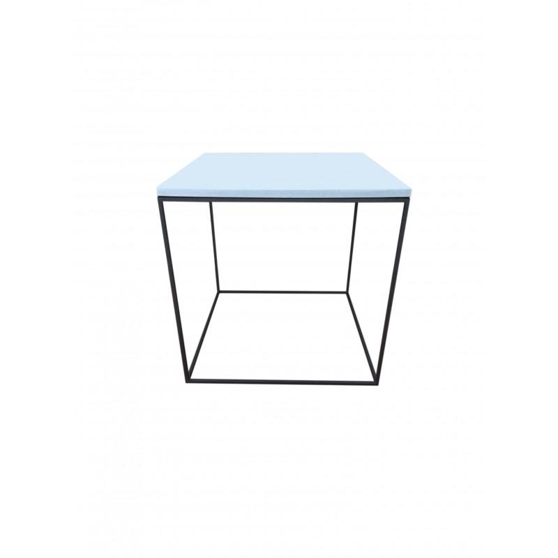 Grå Stein bord Glasur 40x40x40