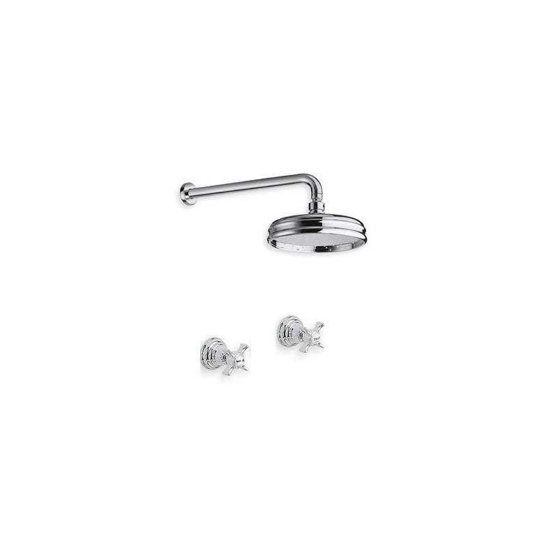 6021 vattenfjäder kran väggmontering dusch