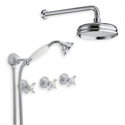 6022 Water spring faucet wall mount shower