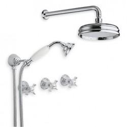6022 vattenfjäder kran väggmontering dusch