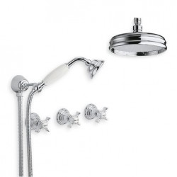6022-L Water spring fixture ceiling mount shower