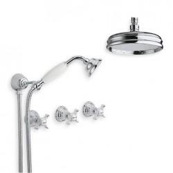 6022-l vattenfjäder fixtur takmontering dusch