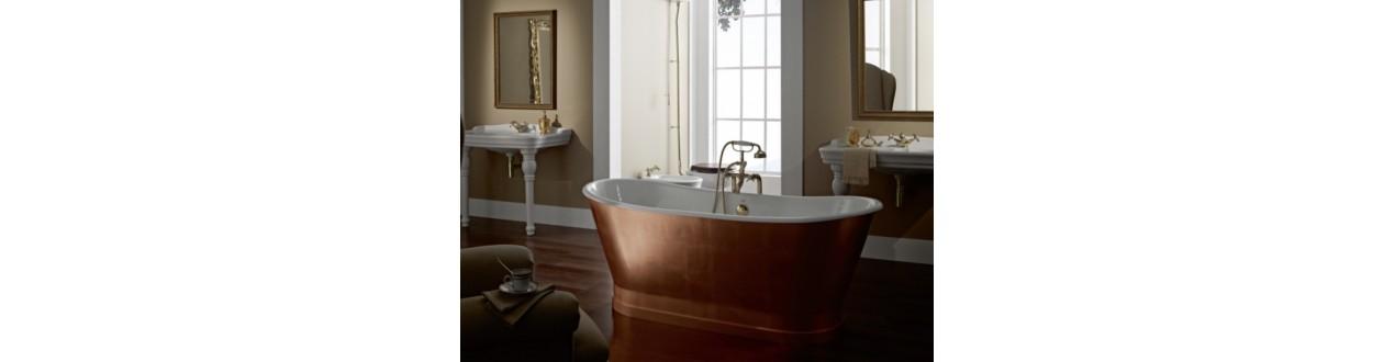 Fritstående badekar, det moderne klassiske design. Inspiration og stil til køkken og bad | Bellistri Bad & Køkken